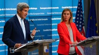 EU und USA mahnen Erdogan zur Mässigung
