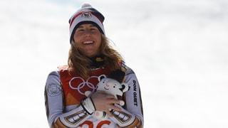 Snowboard-Weltmeisterin Ledecka schnappt sich Super-G-Gold