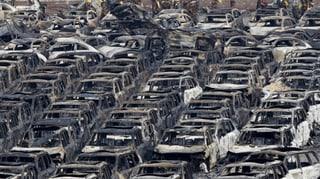Explosion in Tianjin: Ein Rückschlag für die Wirtschaft