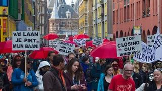 Amsterdams Prostituierte kämpfen für ihre Fenster