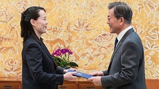 Corea: Brev d'invit dal Nord giu en il Sid