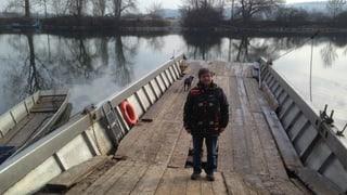 Fähren-Taufe in Nennigkofen fällt ins Wasser