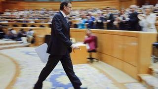 Rajoy zum Spendenskandal: «Ich wurde getäuscht»