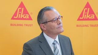 Sika-GV: Sieg von Management gegen Inhaber-Familie