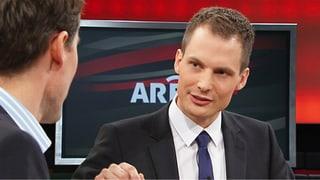 «Arena»: Jonas Projer wird neuer Moderator