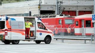 30 Verletzte bei Bahnunfall in Andermatt
