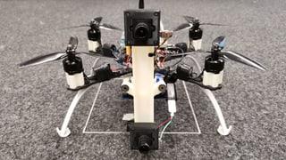 Drohne weicht Fussbällen aus – dank zwei Kamera-Augen (Artikel enthält Audio)