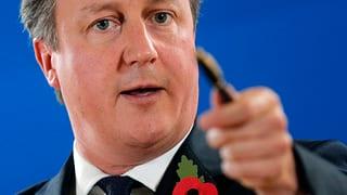 Cameron poltert wegen Nachzahlung an EU