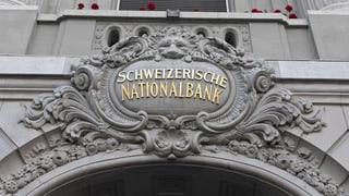 Nationalbank hält etwas weniger Devisen