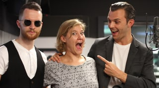 Video: Hurts spielen «Some Kind of Heaven» live bei SRF 3