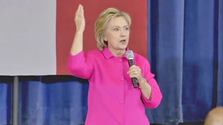 Hillary Clinton sagt Pharmafirmen den Kampf an