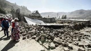 Weitere Todesopfer nach Erdbeben in Peru befürchtet