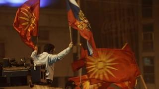 Gewaltsame Proteste in Skopje