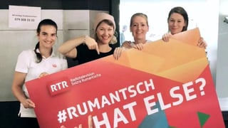 #rumantsch en visita: Tar Anic da SRF3 ed il Migros St. Fiden