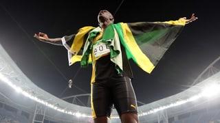 Ziel erreicht: Bolt macht sich unsterblich