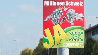 Aargauer Mitteparteien holen Ecopop ins Boot
