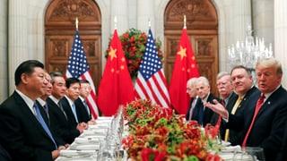Xi und Trump finden vorläufige Lösung