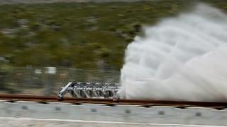 «Hyperloop»: Am Anfang war der Staub