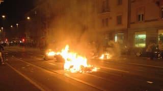Unbewilligte Demonstration in Zürich artet in Krawalle aus