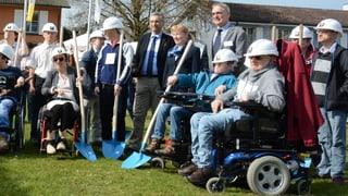 Baustart für Wohnungen für Schwerbehinderte in Rathausen