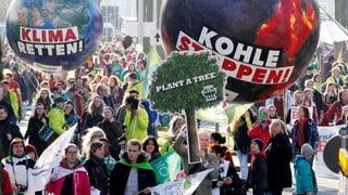 Tausende demonstrieren für Kohle-Ausstieg