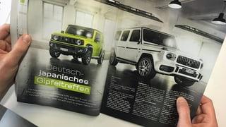Fast nur CO2-Schleudern im offiziellen Autosalon-Magazin