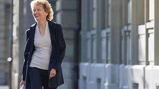 Pressestimmen: Lob für Widmer-Schlumpfs Arbeit und den Rücktritt