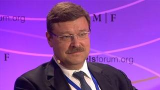 Russland für eine stärkere OSZE im Ostukraine-Konflikt