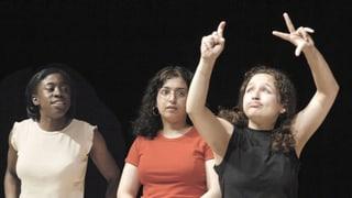Video «Deaf Jam - Gehörlose Jugendliche entdecken die Slam Poetry» abspielen