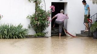 Ein Erdwall soll das Bünztal vor Hochwasser schützen