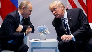 Trump führte in Hamburg ein zweites Gespräch mit Putin