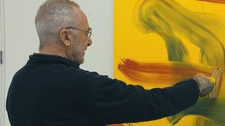 Video «Starmaler Gerhard Richter: Erste Retrospektive in der Schweiz» abspielen