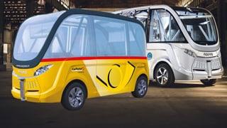 Selbstfahrende Busse in Sitten: Neues Ungemach für Taxifahrer?