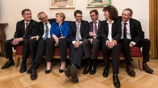 Berner Kantonsregierung bleibt rot-grün (Artikel enthält Bildergalerie)