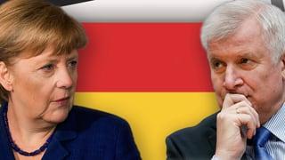 CDU und CSU einigen sich auf eine flexible Obergrenze von höchstens 200'000 Flüchtlingen pro Jahr.