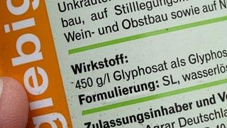 Kommt das Glyphosat-Verbot?