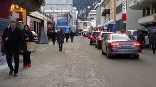 Wie die Gemeinde Davos versucht, den WEF-Verkehr zu managen
