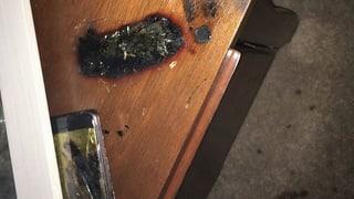 Fehlerhafte Batterien für Brände verantwortlich
