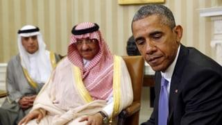 Ein unerhörter Vorgang: Obama kritisiert die Saudis