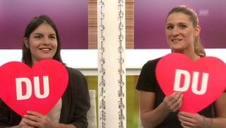 Sina Candrian und Isabel Derungs (Artikel enthält Video)