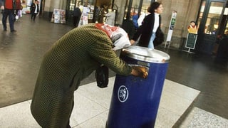 6,6 Prozent der Schweizer Bevölkerung leben in absoluter Armut