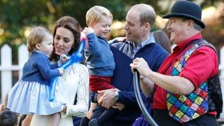 So herzig feiern Prinz George und Prinzessin Charlotte in Kanada