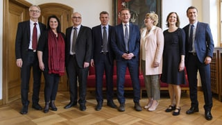 Berner Kantonsregierung bleibt bürgerlich