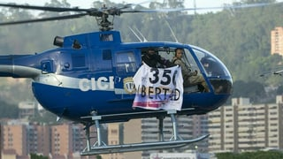 Präsident Maduro droht mit Gewalt