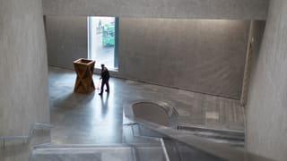 SVP-Grossrat Pascal Messerli wehrt sich, dass der Kanton dem Kunstmuseum einfach so unter die Arme greifen soll.