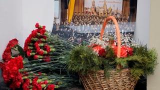 Russland trauert um die Toten