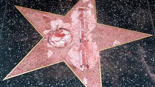 Trump auf dem «Walk of Fame»: Ein Stern, der keinen Namen trägt
