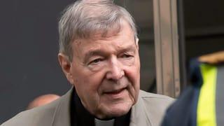 Sechs Jahre Haft für Kardinal George Pell