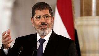 Präsident Mursi legt umstrittene Justizreform auf Eis
