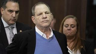 Ausreichend Beweise für einen Prozess gegen Harvey Weinstein